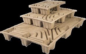papírové palety nasávaná kartonáž